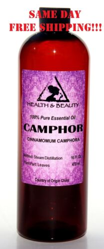 CAMPHOR ESSENTIAL OIL AROMATHERAPY 100% PURE NATURAL 16 OZ