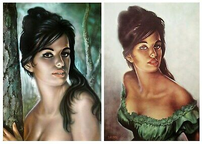 Tina by J H Lynch from the Tretchikoff Era Vintage Kitsch Art Print Size A3