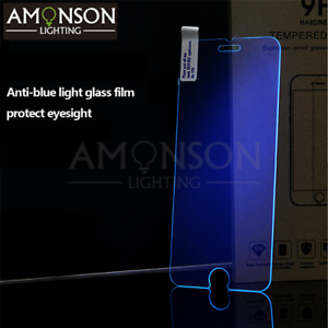 0515a2ca6ed New Anti-blue light Tempered Glass Screen Protector Apple iPhone 6 7 ...
