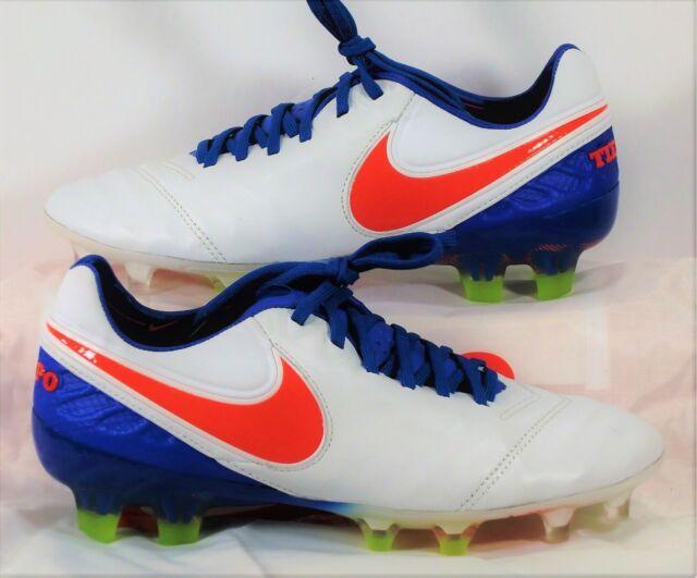 Eliminar escucho música secretamente  Nike Tiempo Legend VI FG ACC Blue White Women Soccer Cleats Sz 6 819256 164  for sale online | eBay