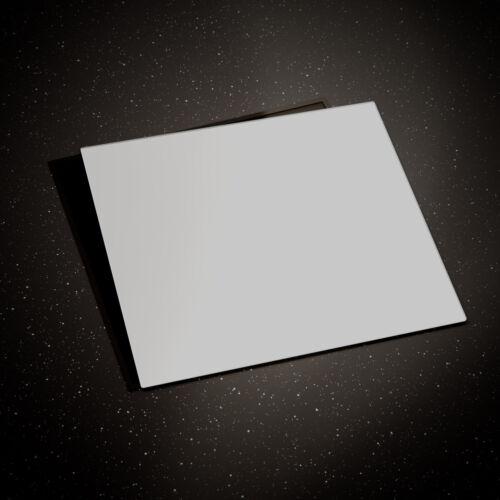 Glass Chopping Board Cooker Hob Cover ESG 60x52cm or 2x30x52 cm Ghost White