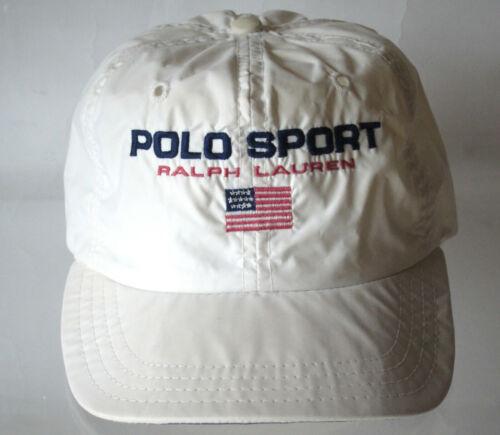 Nyon VTG POLO SPORT Reflective Hat Cap 90s Ralph L