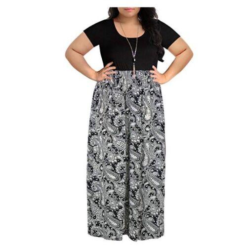 Women/'s Chevron Print Summer Short Long Sleeve Plus Size Maternity Maxi Dress