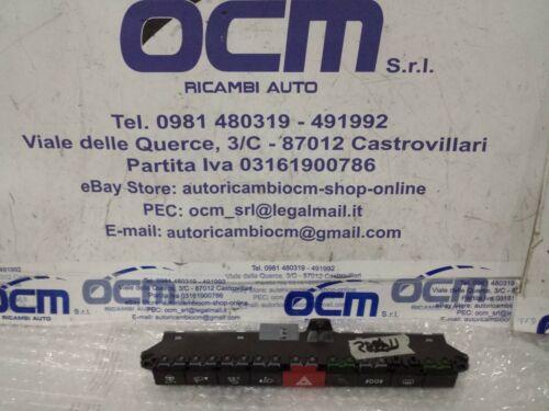 07355969320 COMANDO INTERRUTTORI PULSANTIERA 4 FRECCE FIAT PANDA III DAL 2012