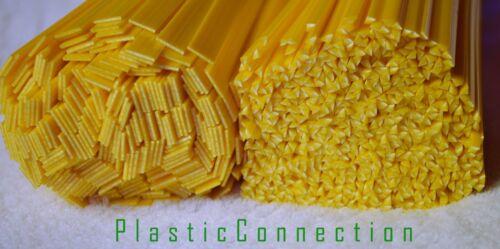 Automotive L/'HDPE plastica di saldatura BACCHETTE inalazione GIALLO MIX 4pz industrie dell/' acqua