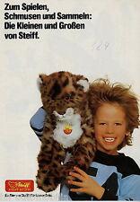 Katalog Prospekt Steiff Tiere 1975 Plüschtiere Stofftiere Spielzeug Teddy Jolly