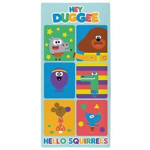 Hey-Duggee-Serviette-Coton-Enfants-Bain-Plage-Colore-140cm-x-70cm