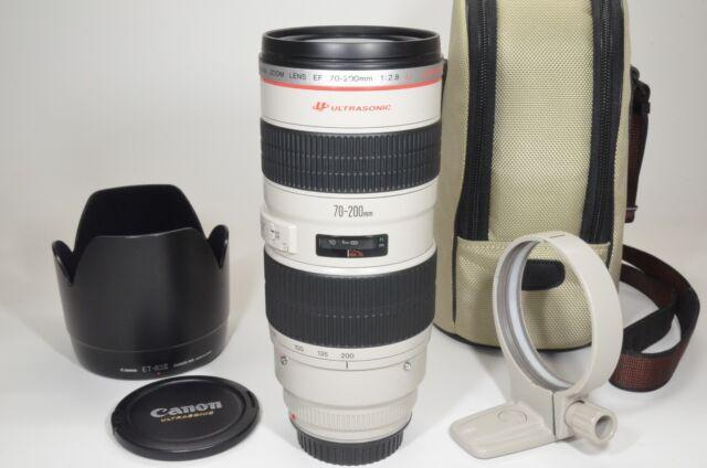 Canon EF 70-200mm f/2.8 L USM ULTRASONIC Lens with Lenc Case #a1047 Near MINT