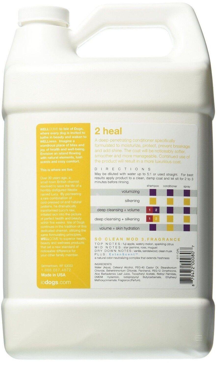 Isle of Dogs Salon Salon Salon Elements 2 Heal Smoothing Conditioner 1 Gallon. 3.79L 1b70c6