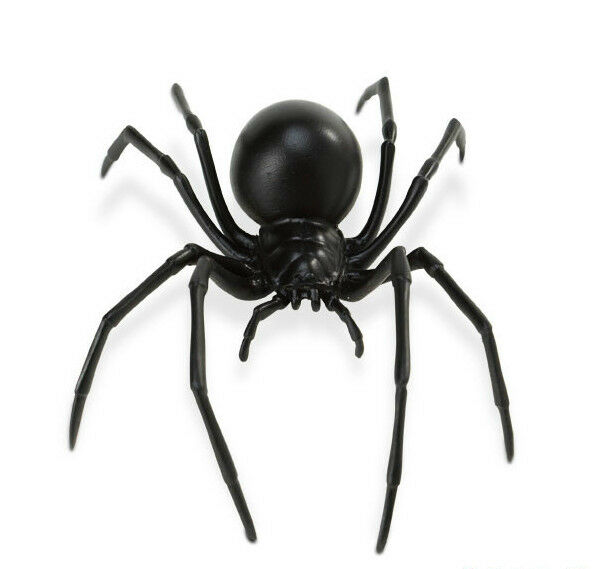 "BLACK WIDOW SPIDER Replica # 545406 ~ 7"" LONG ~ Free Ship/USA w/ $25+ SAFARI"