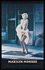 ACTRESS POSTER Marilyn Monroe Boulevard of Broken Dreams