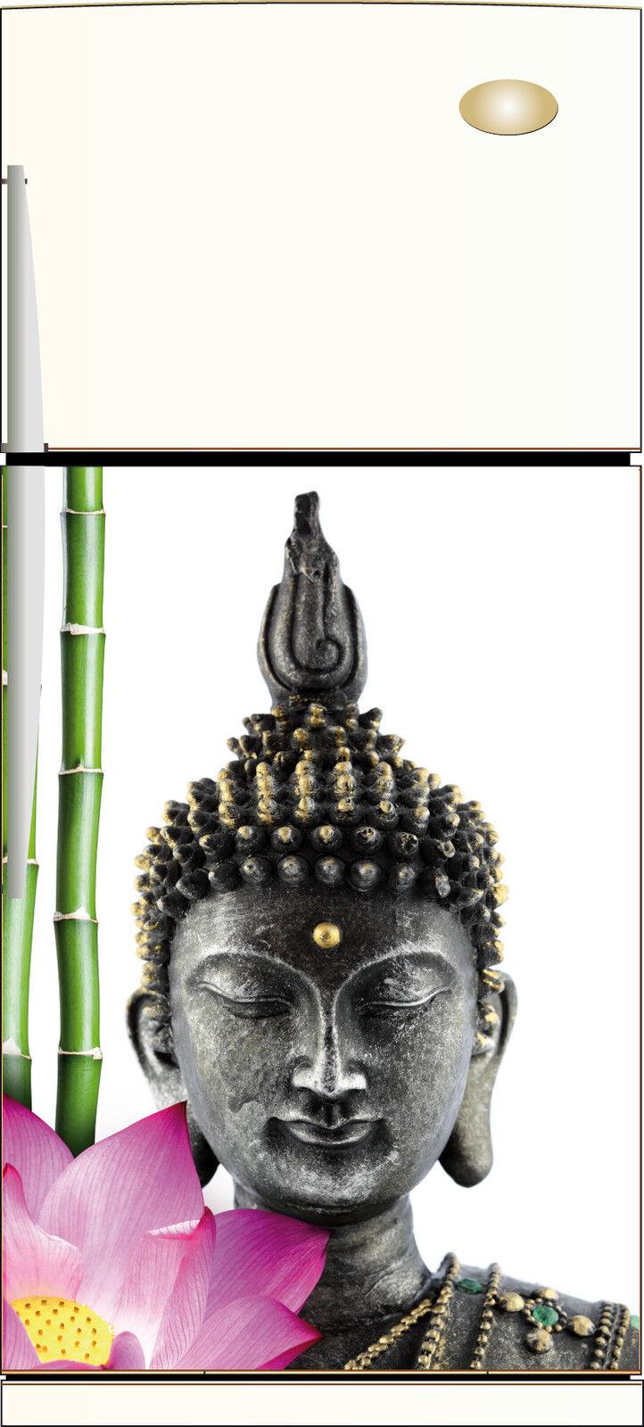 Adesivo Frigo Riposizionabile Decocrazione Cucina Buddha 60x90cm Ref 201