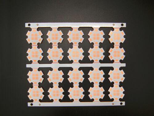 20x Copper Star Heatsink Base Plate PCB Board 20mm For Cree XPE XPG  XTE XPL LED