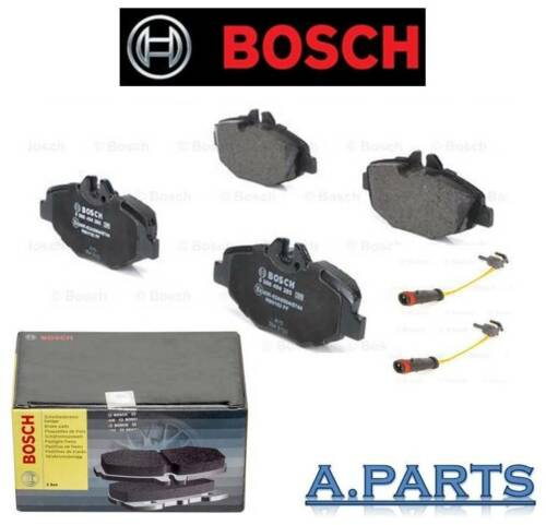 Bosch Bremsbelagsatz Essieu Avant Complet Avec 2x warnkontakt mercedes w211 s211