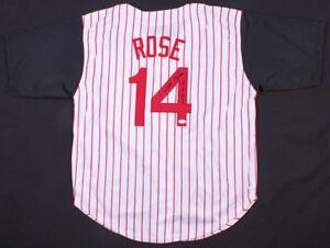 81bf2760f Pete Rose Signed Cincinnati Reds jersey (JSA COA) MLB s All Time Hit ...
