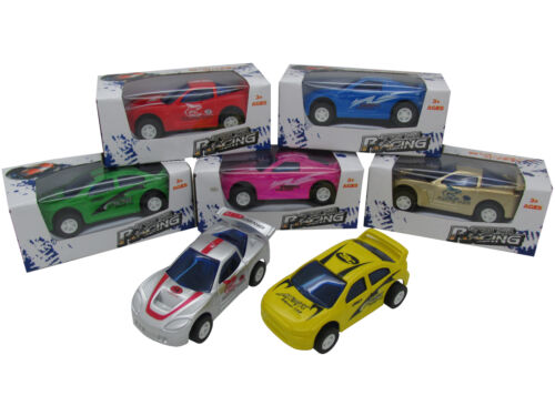 12x Auto Rennwagen mit Rückzug Spielzeugauto 7cm Mitgebsel Kindergeburtstag