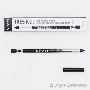 1-NYX-Tres-Jolie-Gel-Pencil-Liner-034-TJL01-Pitch-Black-034-Joy-039-s-cosmetics