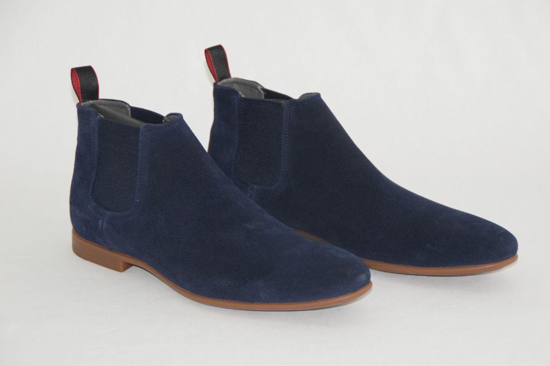 Hugo Mis. BOSS boots, mod. parcelsio, Mis. Hugo EU 43,5//US 10,5 Navy e9d106