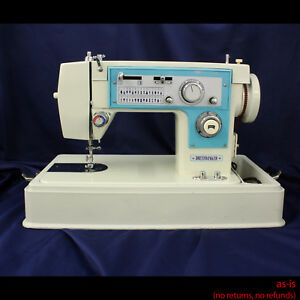 Vintage Dressmaker 7000 Heavy Duty Upholstery Sewing Machine No