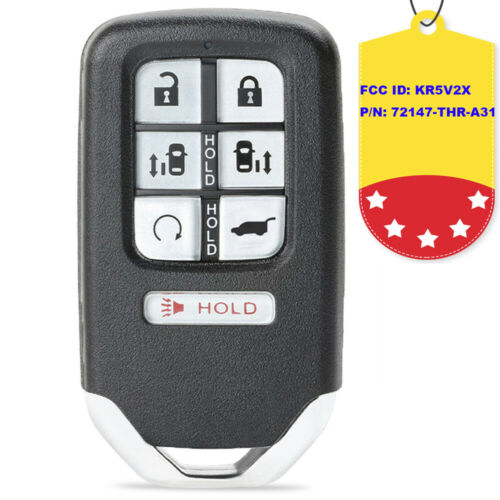 KR5V2X for Honda Odyssey 2018 Remote Car Key Fob 433MHz P//N 72147-THR-A31
