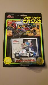 Bobby Allen World of Outlaws 1:64 Die Cast Racing Champions Knoxville Nationals