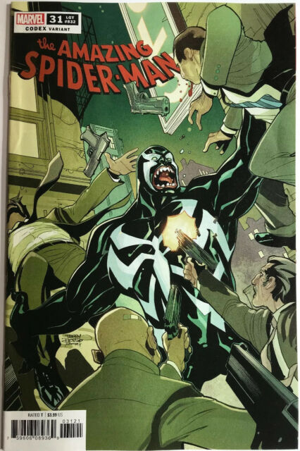 AMAZING SPIDER-MAN #31 Codex Variant 1:25 TERRY DODSON Marvel NM
