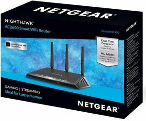 NETGEAR-Nighthawk-AC2600-Dual-Band-Wi-Fi-Router-Black