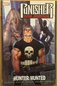 Punisher-War-Journal-Vol-3-Hunter-Hunted-VF-NM-tpb-Fraction-Marvel