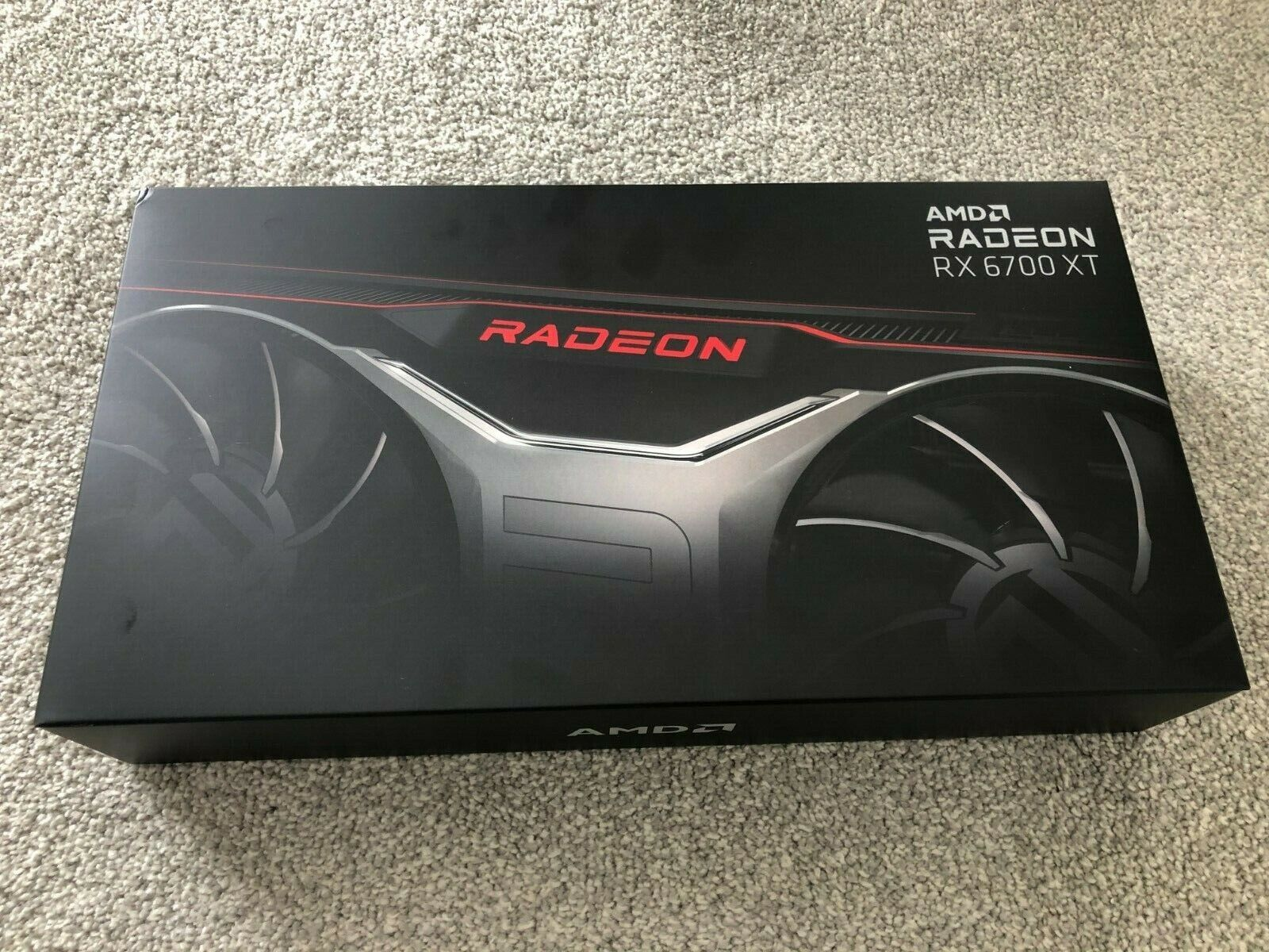 AMD Radeon RX 6700 XT 12GB GDDR6 Graphics Card - IN HAND