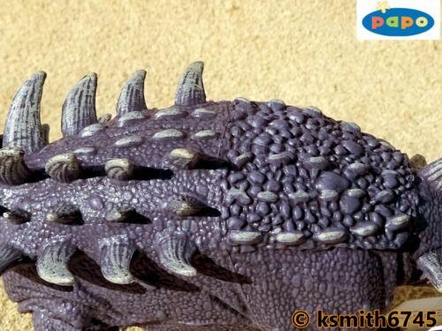 Papo polacanthus plástico sólido Juguete Animal Prehistórico Dinosaurio Nuevo *