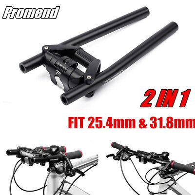 New Aluminium Alloy Bicycle Flat Bar MTB Mountain Bike Handlebar Foldable 31.8mm