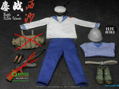 QORANGE QOTOYS QOM-1013B 1//6 Battle In Xisha Islands Sailor Clothes Set Model
