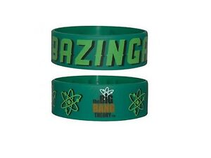 Big-Bang-Theory-bracelet-officiel-pvc-souple-Bazinga-official-rubber-wristband