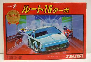 ROUTE-16-TURBO-SUNSOFT-FAMICOM-FC-NES-NINTENDO-IMPORT-JAPAN