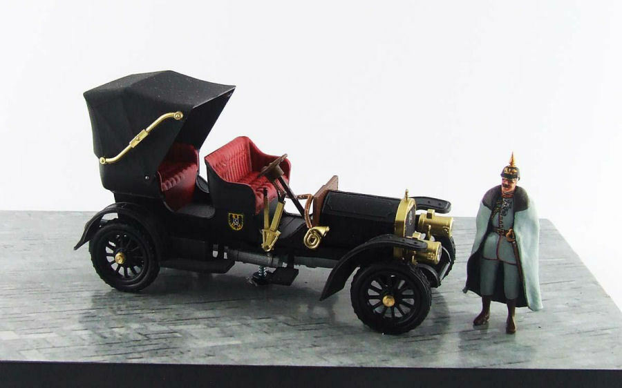 MERCEDES simplex 1902 empereur personnel car 1 43 MODEL rio4473d rio