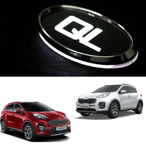led emblem front rear 2pcs tuning kits for kia sportage ql. Black Bedroom Furniture Sets. Home Design Ideas