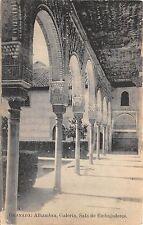 B93391 granada alhambra galeria sala de embajadores spain