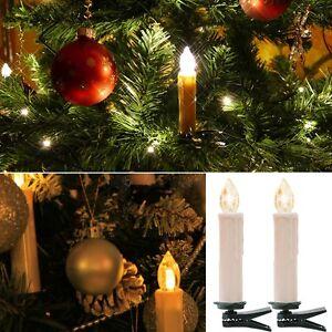 Weihnachtskerzen weihnachtsbeleuchtung led kerzen lampen kabellos warmwei ebay - Weihnachtsbeleuchtung led kabellos ...