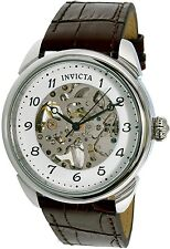Invicta Men's Specialty 17187 Brown Leather Automatic Dress Watch