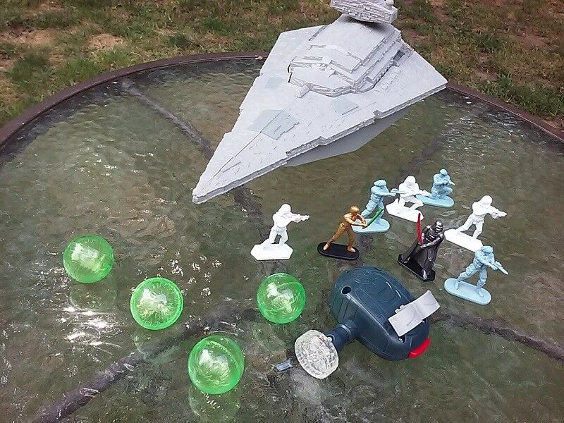 Star Wars RC Command Super Star Destroyer Ship Complete & Tested 2014 Toy