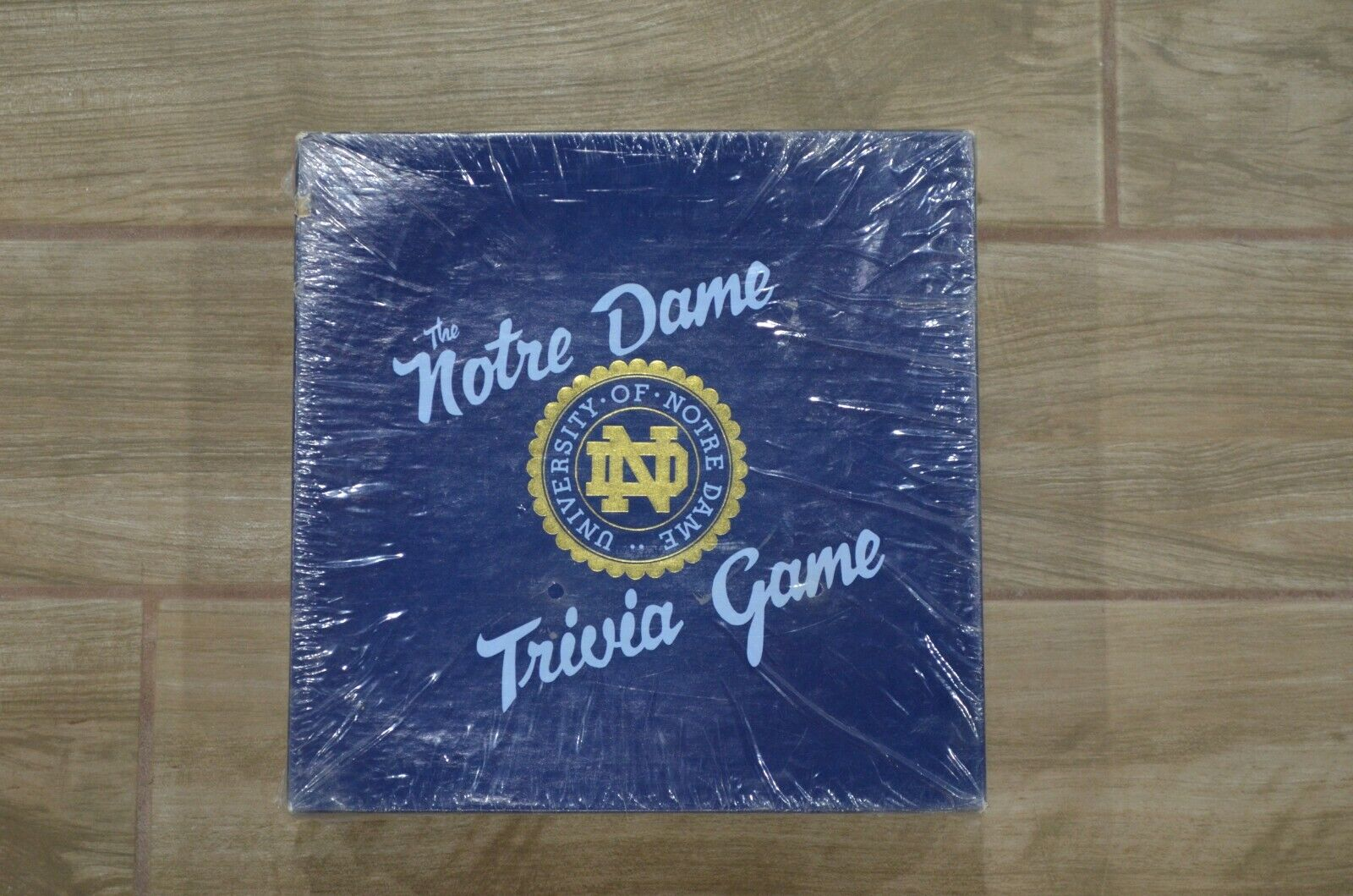 Vintage University of Notre Dame Trivia Board Game Shrink wrapped-Free Shipping