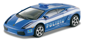 Bburago Street Fire 1 43 Lamborghini Gallardo Polizia 4893993300013