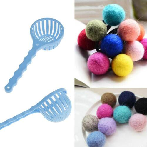DIY Plastic Needle Felting Wool Wet Felting Ball Making Fibre Roving Hand Tool