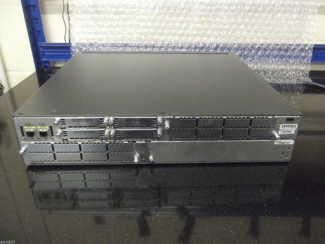 Cisco 2821 Routeur 256/64 Vpn Parfait pour Votre Ccna Ccnp Ccie Ios 15
