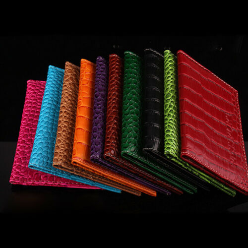 Sale Passport Cover PU Leather ID Holder Document Bag Wallet Embossing Passport