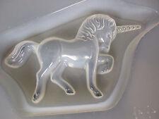 "Resin Mold Unicorn 7.5"" 19 cm Epoxy Fondant Chocolate Horse Fantasy Mould"