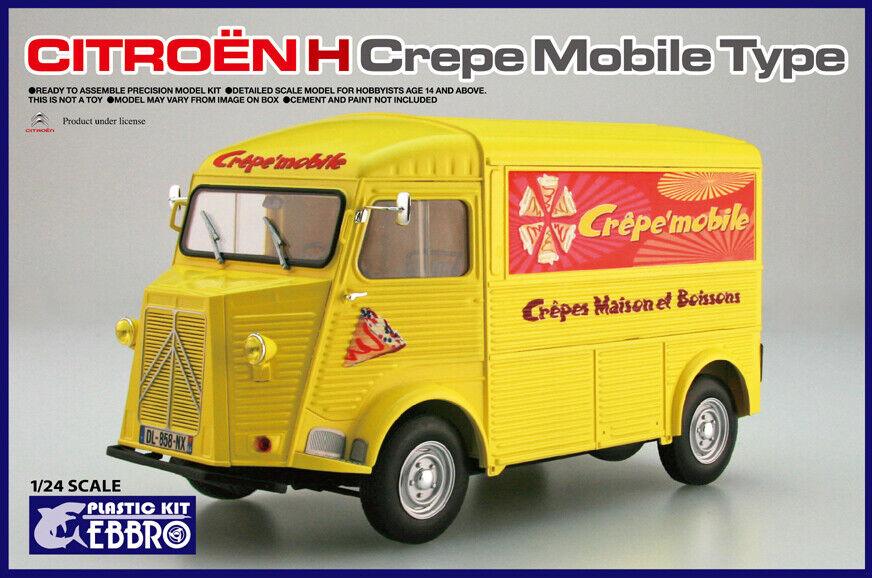 Ebbro 25010 1  24 skala modellllerlerl Bil Kit Citroen H Panel Van Crepe bilene Type