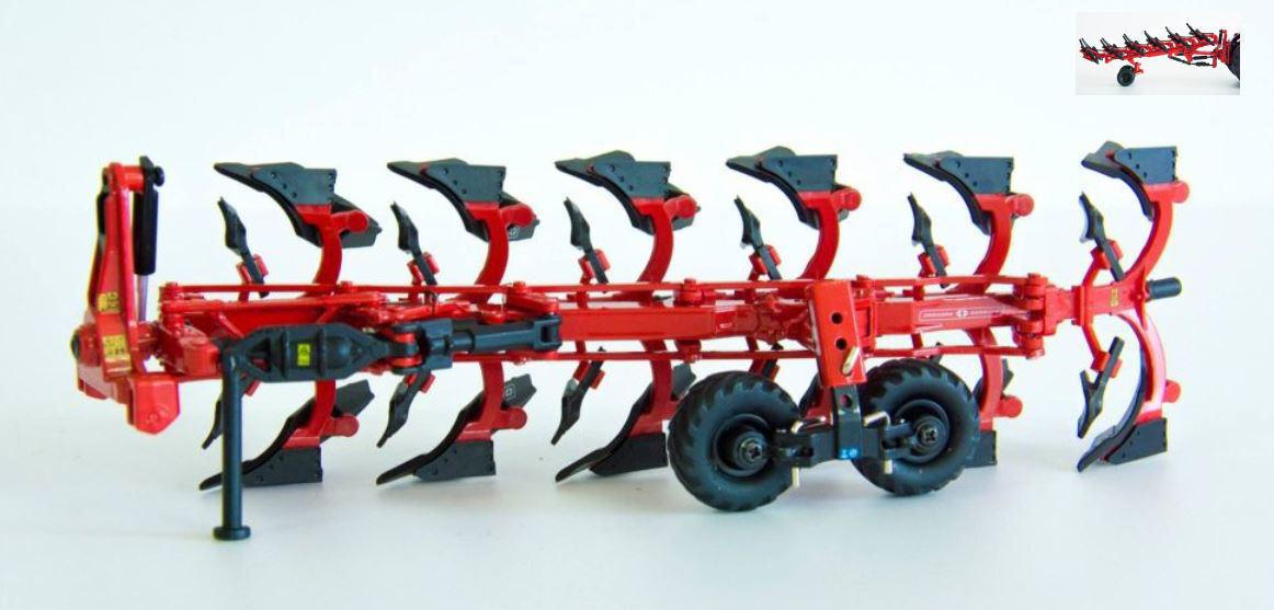 Charrue Gregoire Besson RWY8 Plough Aratro Esavomere A Bilanciere 1 32 Model