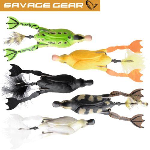 Oberflächenköder Gummifisch Ente Savage Gear the Fruck 3D Hollow Duckling