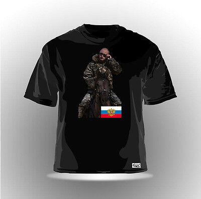 EAKS® HERREN T-SHIRT WLADIMIR PUTIN Schwarz #5 Russland Russia Moskau Kreml